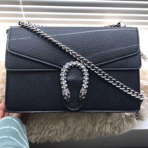 Gucci Dionysus-all Black Italian Leather-NON AU